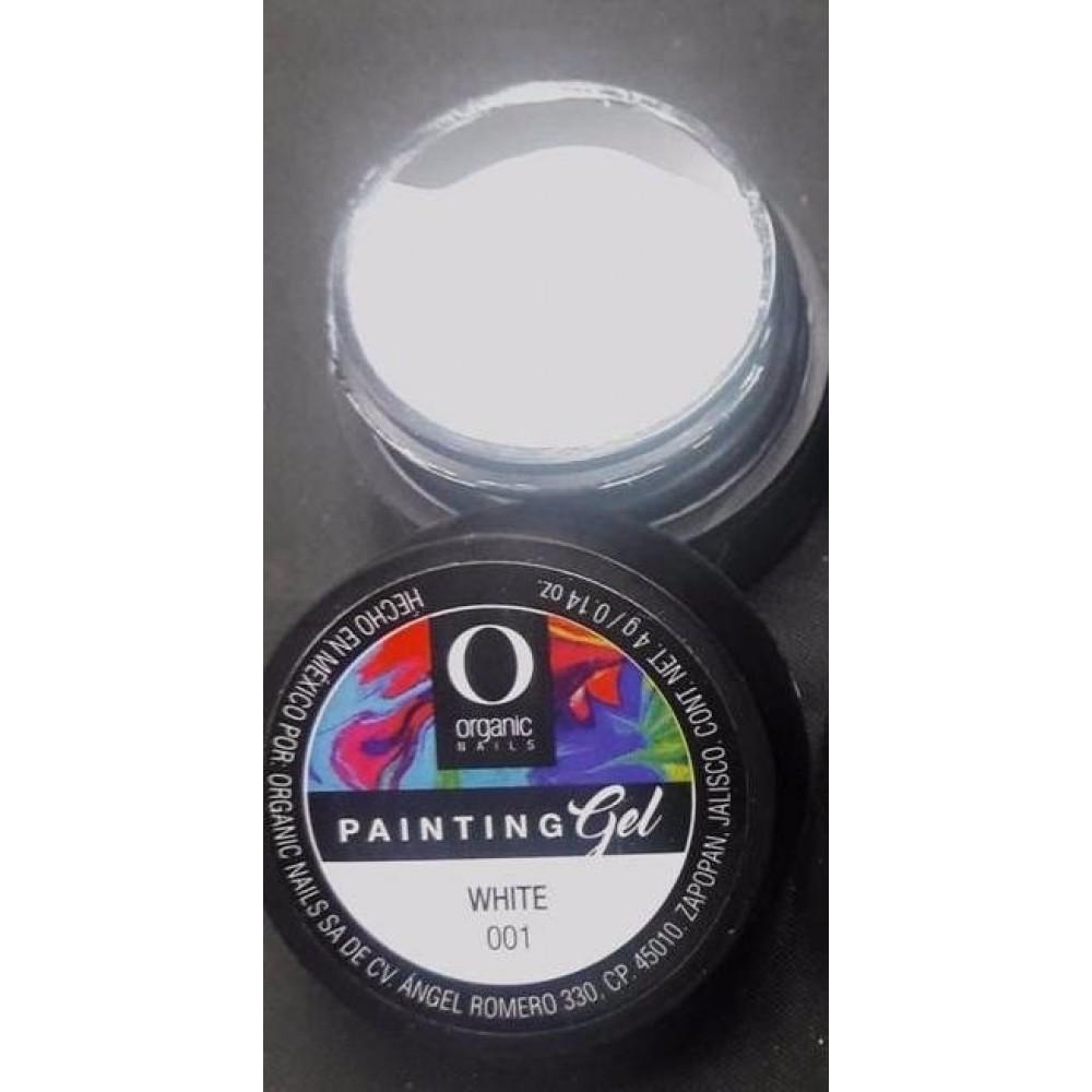 Painting gel White