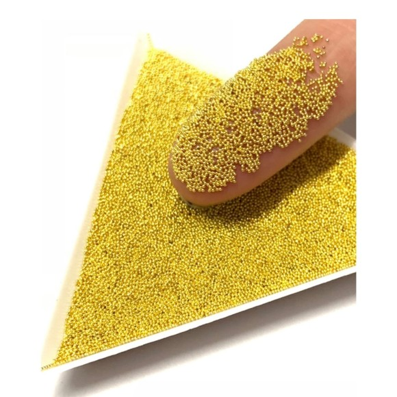 Micro Caviar Dourado 0.1 mm