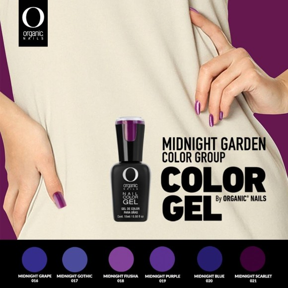 MIDNIGTH GARDEN COLOR GROUP 15 ML.