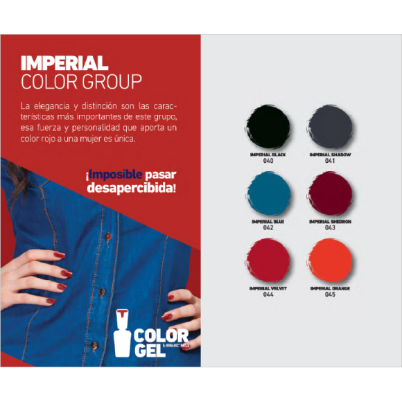 IMPERIAL COLOR GROUP 15 ML.