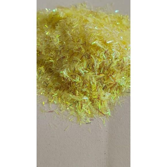 Glitter pelo de gato amarelo
