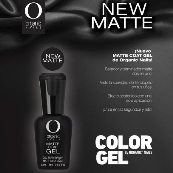MATTE COAT COLOR GEL 15 ML
